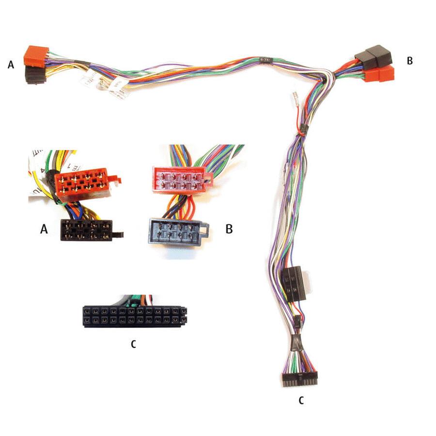 AUDIO2CAR Adapter für ISO-Anschlüsse bei handytreff.de kaufen