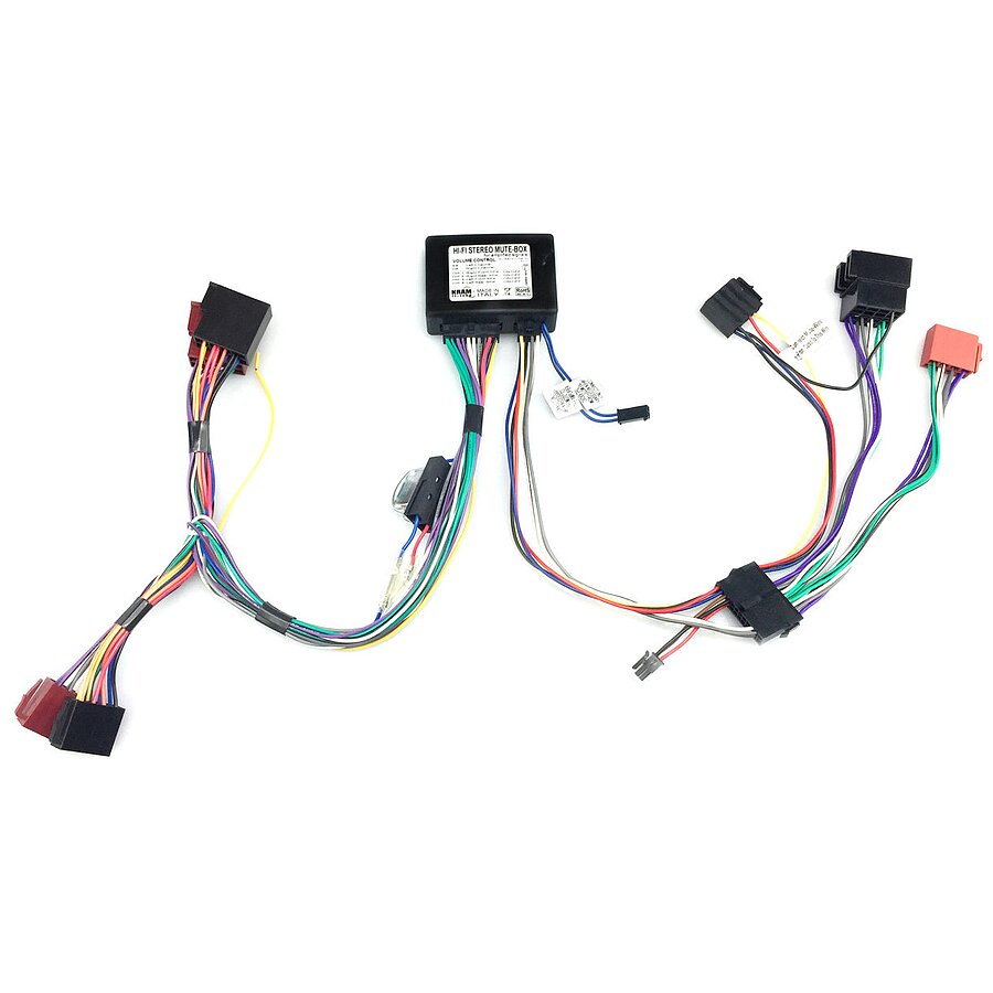 Iso2car Hifi Stereo Adapter Fr Pkw Mit Iso Anschluss 4 Kanal Audio Connector Wiring Streaming