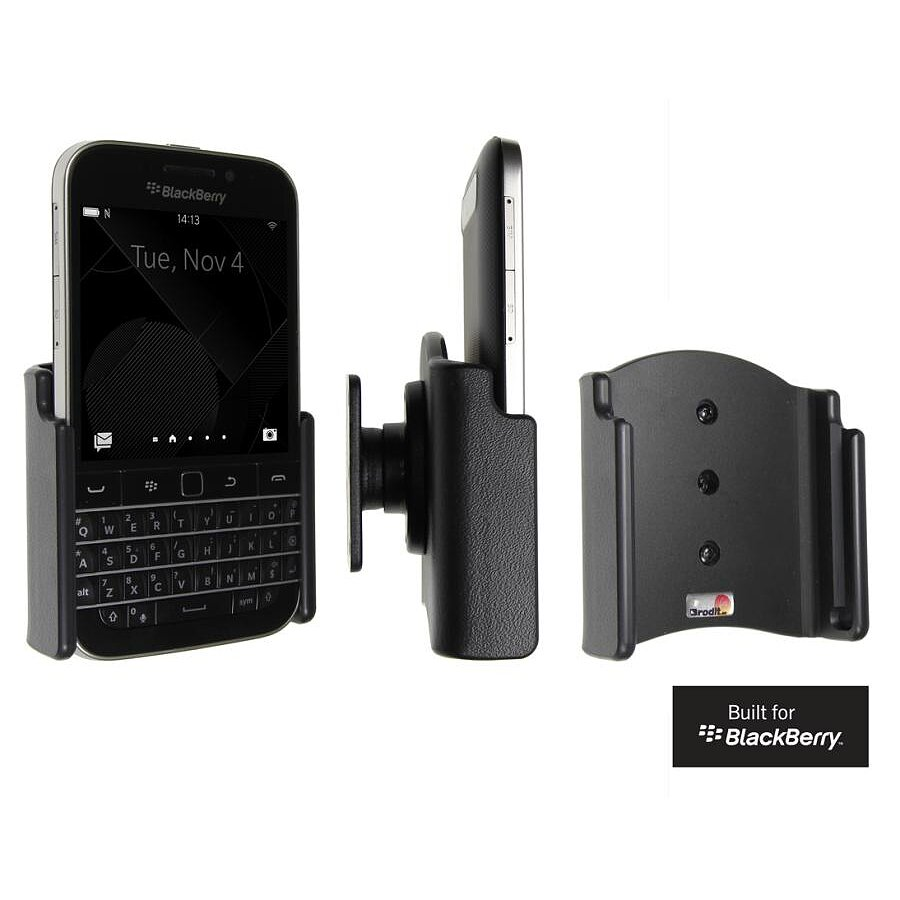 511656 Brodit Halter Mit Kugelgelenk Fr Blackberry Q20 Classic Black