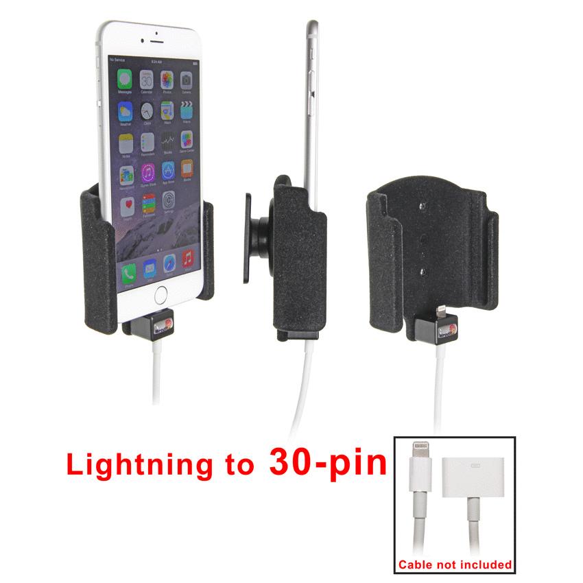 515661 brodit halter mit kugelgelenk f r apple iphone 7. Black Bedroom Furniture Sets. Home Design Ideas