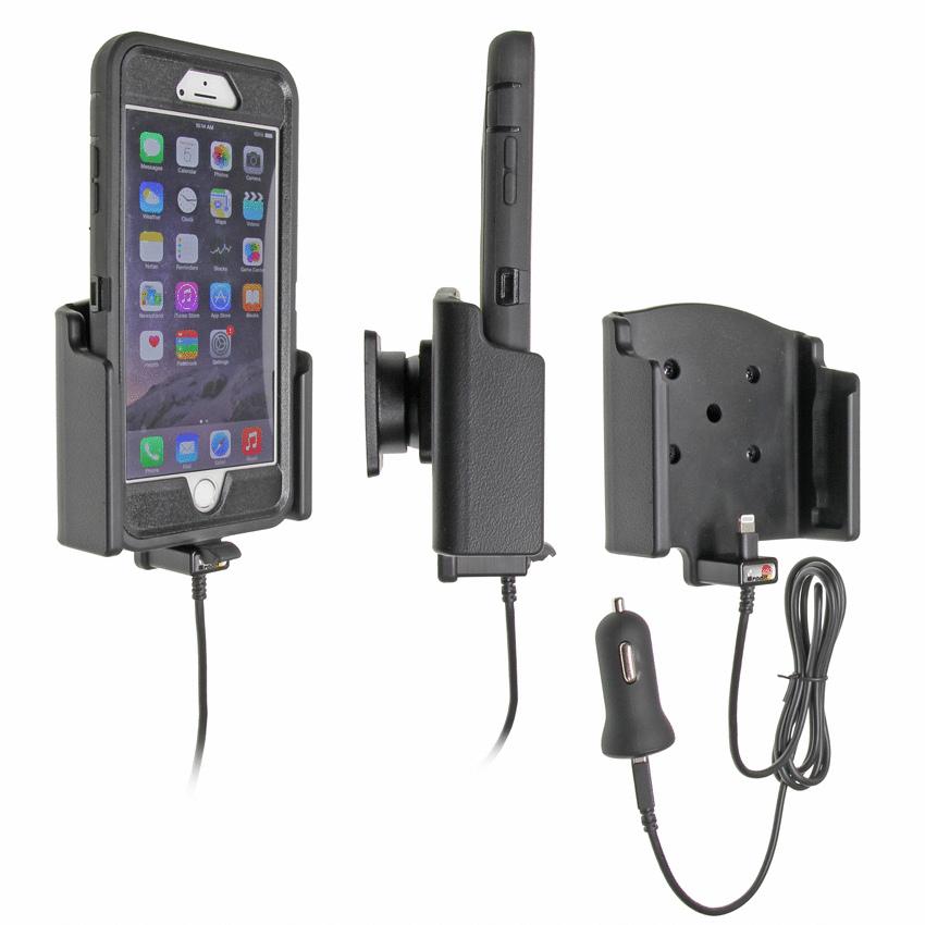 521741 brodit halter aktiv usb 12v f r apple iphone 7. Black Bedroom Furniture Sets. Home Design Ideas