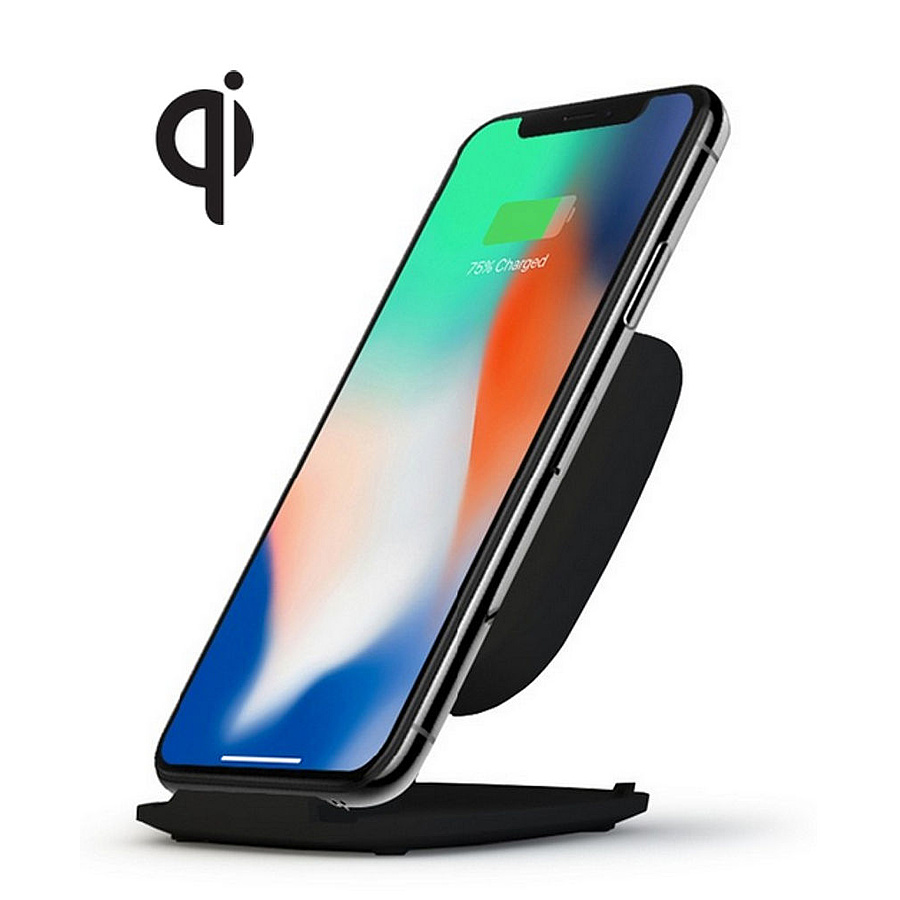 zens zesc06b 00 wireless charger stand 10w qi charger. Black Bedroom Furniture Sets. Home Design Ideas