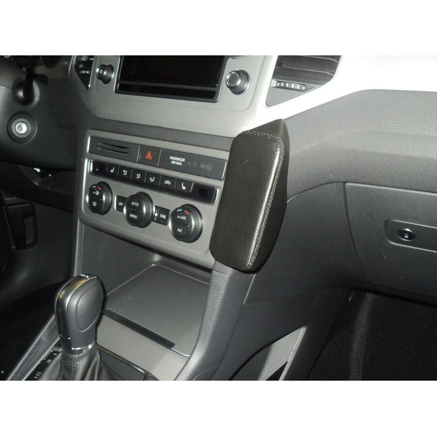 vwk520 telefon konsole f r vw golf sportsvan ab bj 05 2014 black echtleder online kaufen. Black Bedroom Furniture Sets. Home Design Ideas