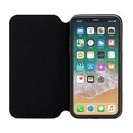 3Sixt Slim Folio Case für APPLE iPhone XR, BLACK