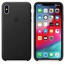 Apple Leder Case, MRWT2ZM/A, BLACK, für APPLE iPhone Xs MAX