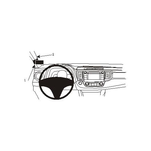 Brodit ProClip 804894 Montagekonsole für Toyota RAV 4 ab Baujahr 2013